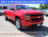 Certified Used 2016 Chevrolet Silverado 1500 Custom Truck in Burton, OH