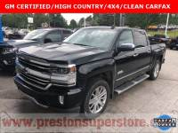 Certified Used 2016 Chevrolet Silverado 1500 High Country Truck in Burton, OH