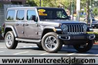 Certified Used 2018 Jeep Wrangler Unlimited All New Sahara Sport Utility 4D SUV in Walnut Creek