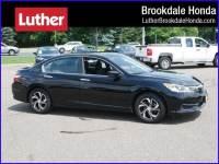 2016 Honda Accord Sedan LX Minneapolis MN   Maple Grove Plymouth Brooklyn Center Minnesota 1HGCR2F31GA074324