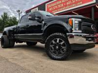 2017 Ford F-350 SD LARIAT CREW CAB 4WD LONG BED CUSTOM LEVELED