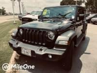 2018 Jeep Wrangler Unlimited Sport SUV V6 24V VVT