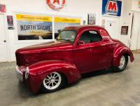 1941 Willys Willys -FRESH BUILT PRO STREET WILLYS- CUSTOM CHASSIS - SHOW AND GO!!-SEE VIDEO
