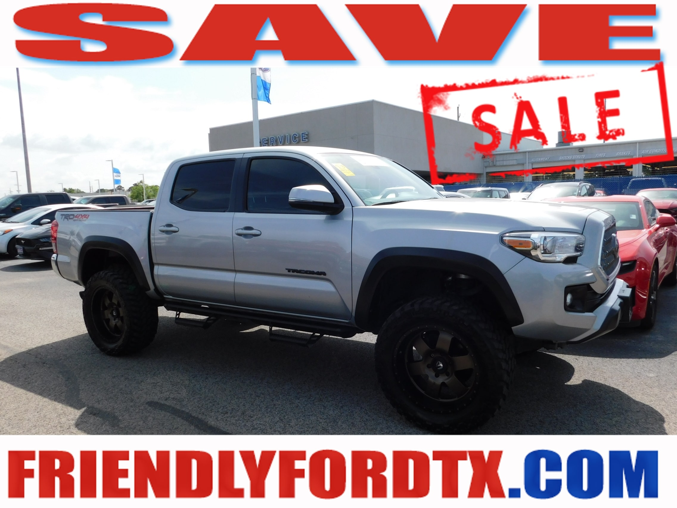 Photo 2018 Toyota Tacoma TRD Off Road SR5 Lifted W After Market Wheels  T Truck V6
