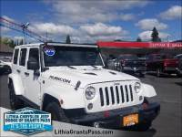 Certified Pre-Owned 2016 Jeep Wrangler Unlimited 4WD 4dr Rubicon Hard Rock Sport Utility in Grants Pass
