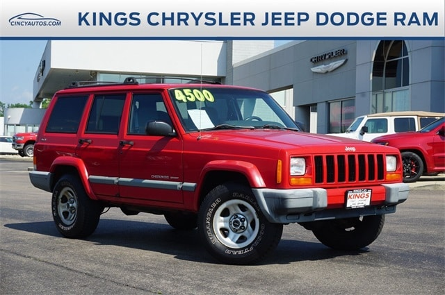 Photo Used 2000 Jeep Cherokee Sport in Cincinnati, OH