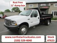 Used 2004 Ford F-450 Dump Truck