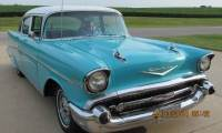 1957 Chevrolet Bel Air RUST FREE-RARE CLASSIC-only 41,000 Original Miles-FREE SHIPPING