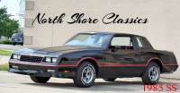 1985 Chevrolet Monte Carlo SS-ALL ORIGINAL WITH 57,125 MILES-RUST FREE-FROM TENNESSEE