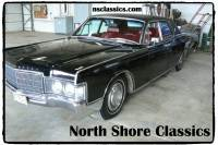 1969 Lincoln Continental - 36,000 ORIGINAL MILES-ONE OWNER