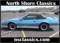 1988 Pontiac Firebird -TRANS AM -LIGHT BLUE CONVERTIBLE-ONLY43,000 MILES-WITH 5 SPEED TRANS-