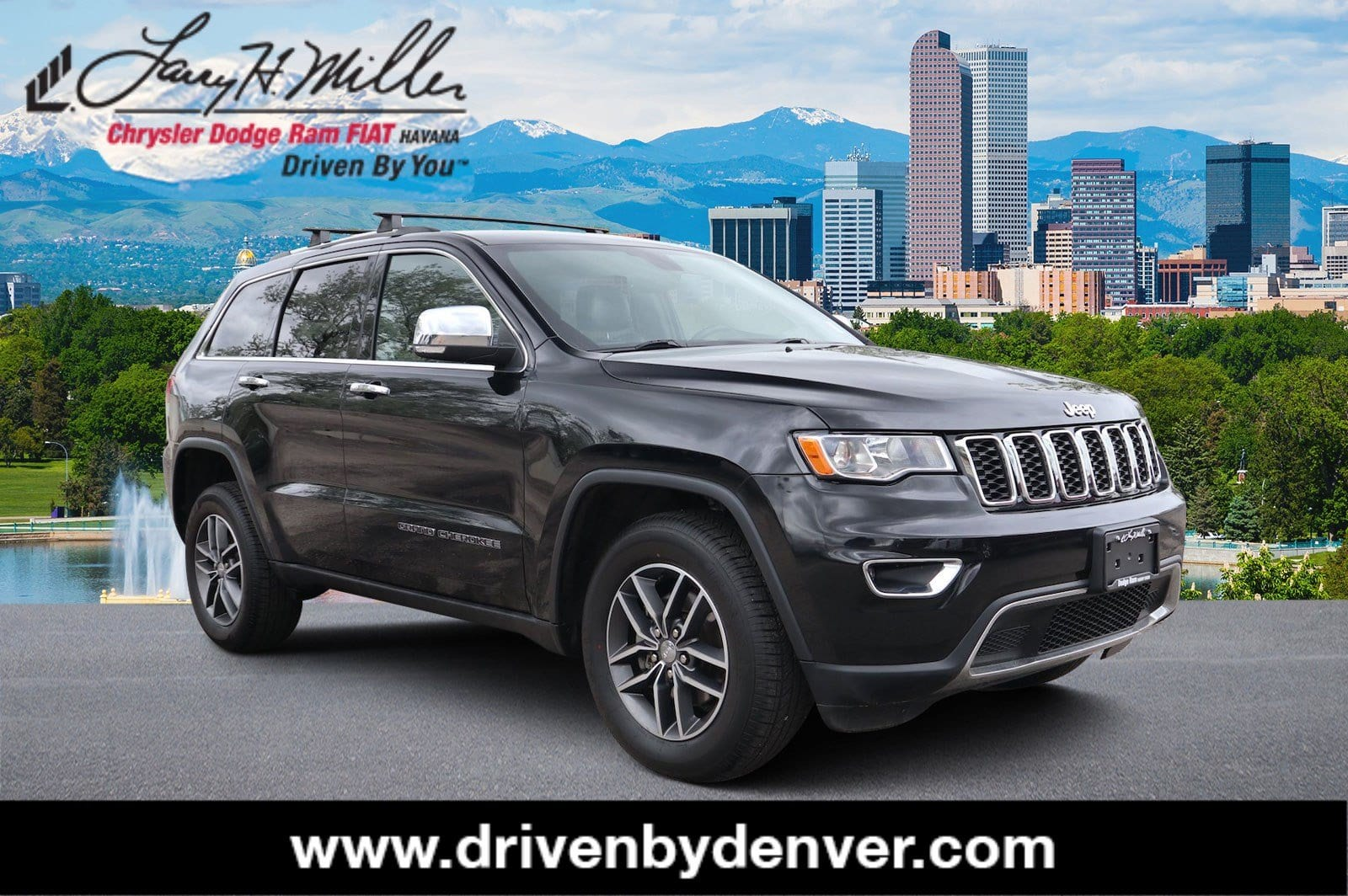Photo Certified 2018 Jeep Grand Cherokee Limited 4x4 SUV Denver, CO