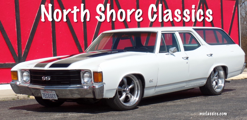 Photo 1972 Chevrolet Chevelle SS Concours wagon air ride,bagged badass cruiser- From California