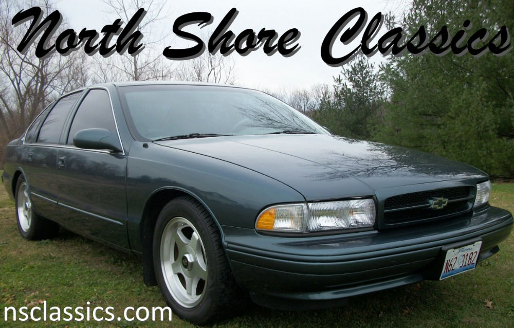 Photo 1996 Chevrolet Impala -SS LOW MILES ONLY 48,893 ORIGINAL-
