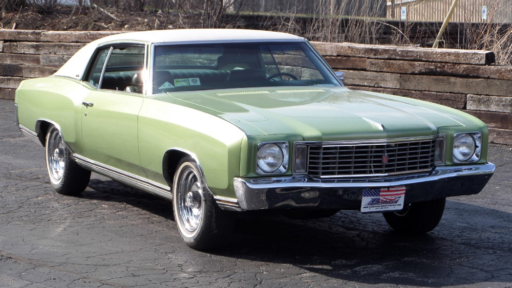 Photo 1972 Chevrolet Monte Carlo ORIGINAL-13,217 ORIGINAL MILES-Lowest miles in the Country-MINT SEE VIDEO