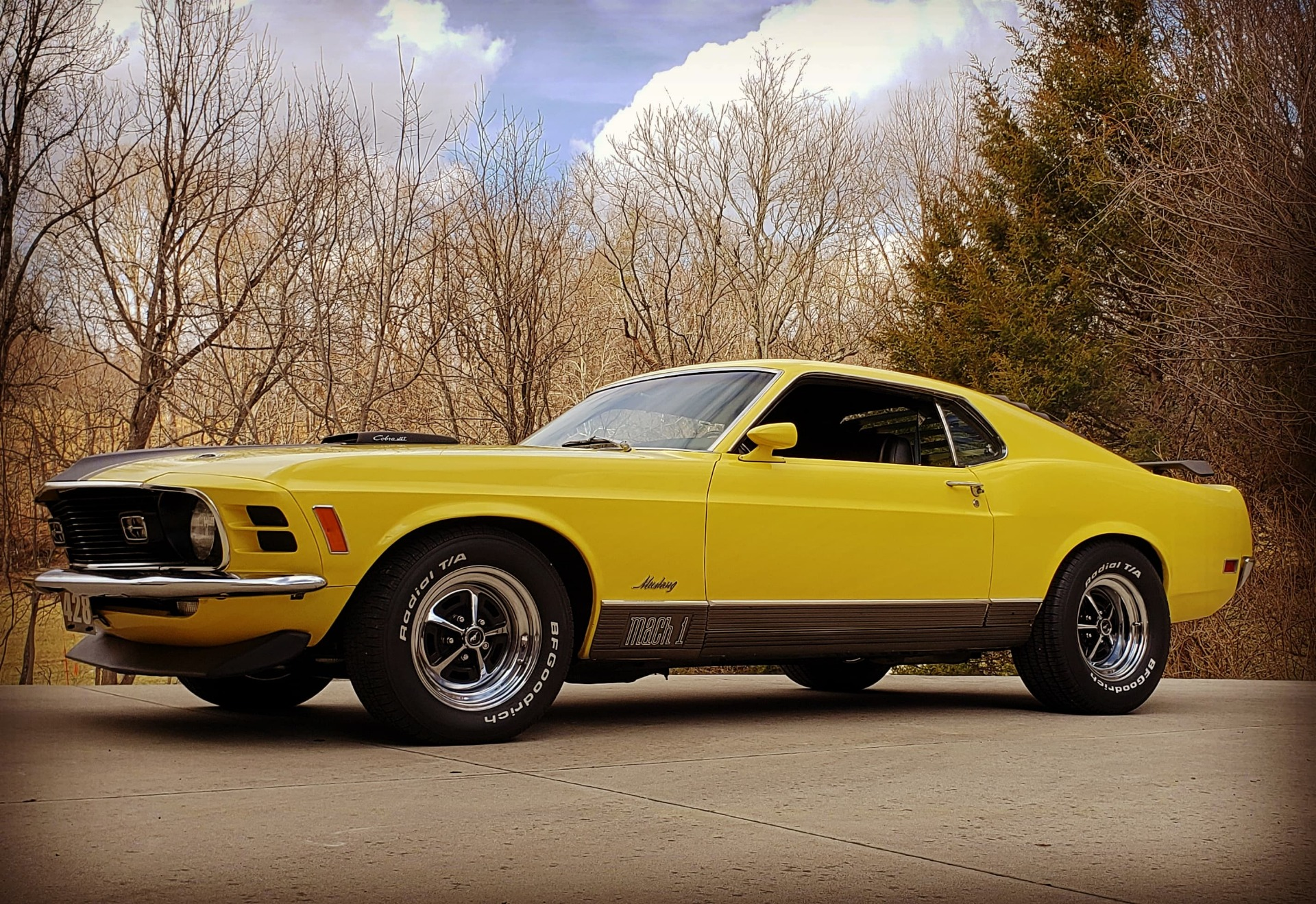 Photo 1970 Ford Mustang -MACH 1 -R CODE 428 COBRA JET- 77,000 ACTUAL MILES-MANY OPTIONS-