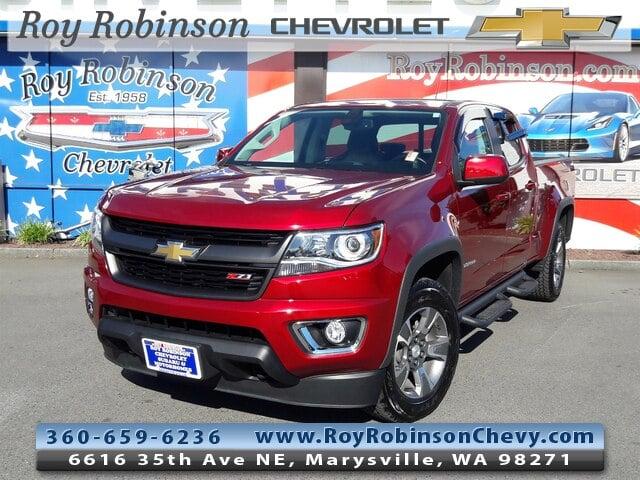 Photo Certified Pre- 2018 Chevrolet Colorado Z71 in Marysville, WA