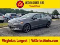 Used 2017 Ford Fusion Hybrid SE Sedan for sale in Amherst, VA