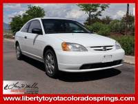 Used 2003 Honda Civic DX Coupe For Sale in Colorado Springs, CO