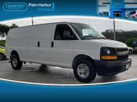 Pre-Owned 2017 Chevrolet Express 3500 Work Van Van Extended Cargo Van in Jacksonville FL