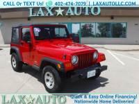 2006 Jeep Wrangler SE w/ Only 83k Miles!
