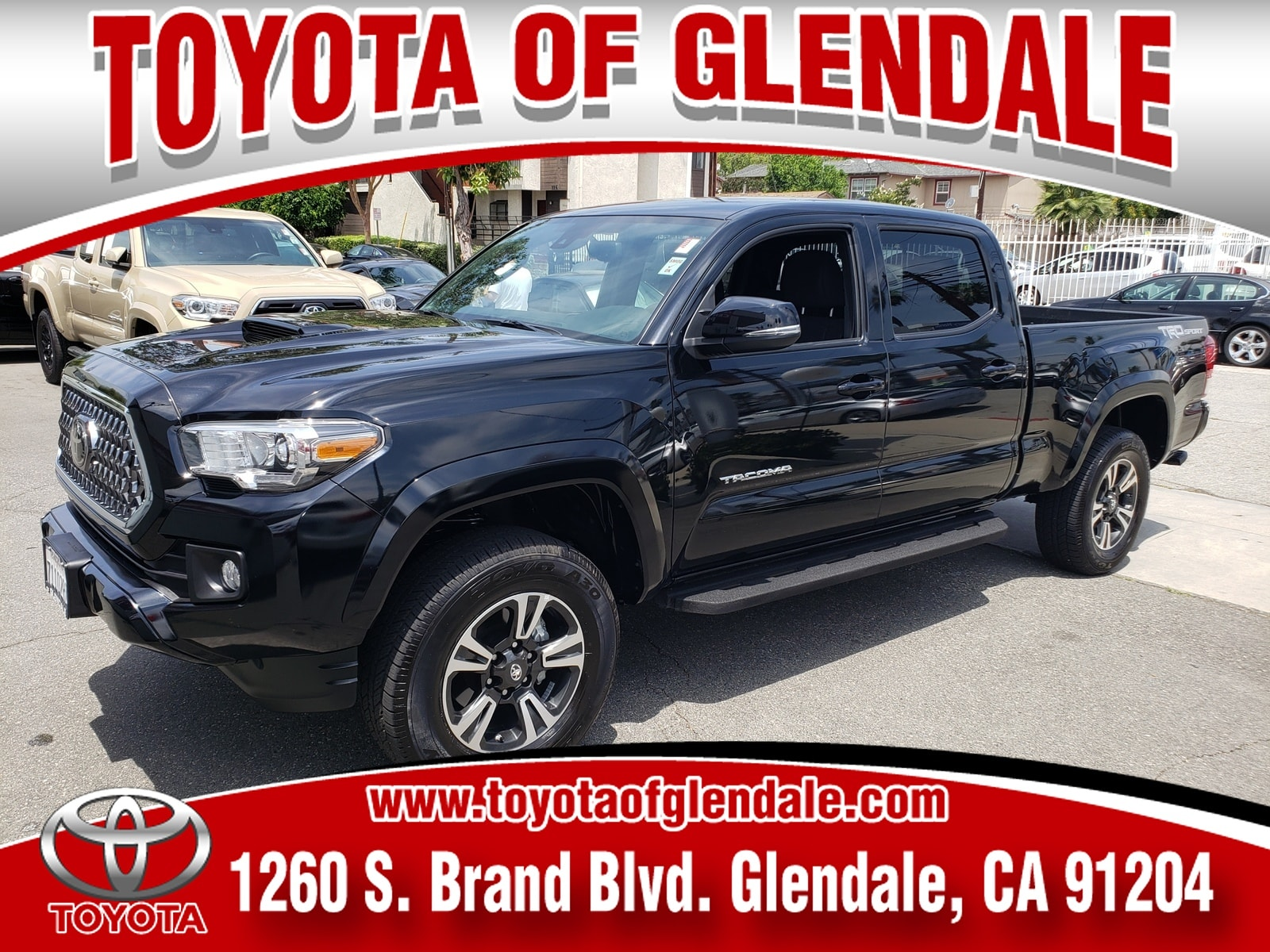 Photo Used 2019 Toyota Tacoma TRD Sport For Sale  Glendale CA  Serving Los Angeles  3TMBZ5DN5KM017796