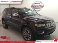 Pre-Owned 2017 Jeep Grand Cherokee Overland 4x4 SUV in Greenville SC