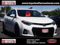 Used 2016 Toyota Corolla For Sale | Lancaster CA | 2T1BURHE0GC484754