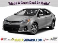 Used 2016 Toyota Corolla S Plus Available in Sacramento CA