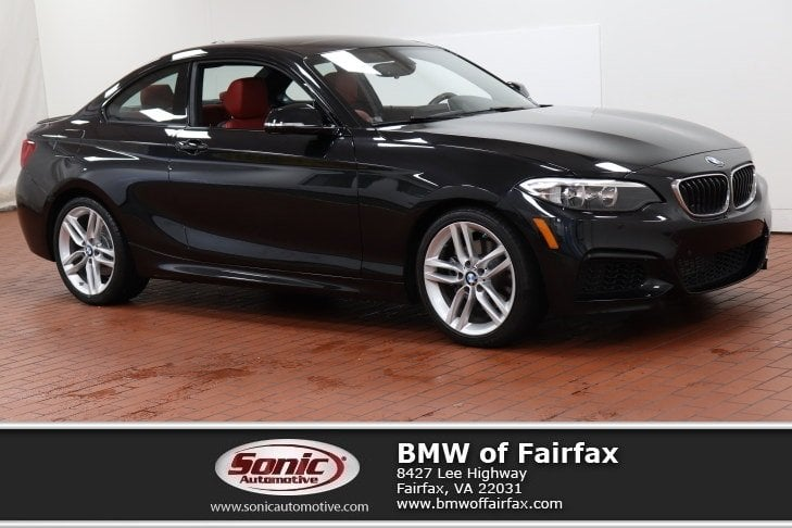 Photo Certified Used 2016 BMW 228i M Sport Package Coupe in Fairfax, VA