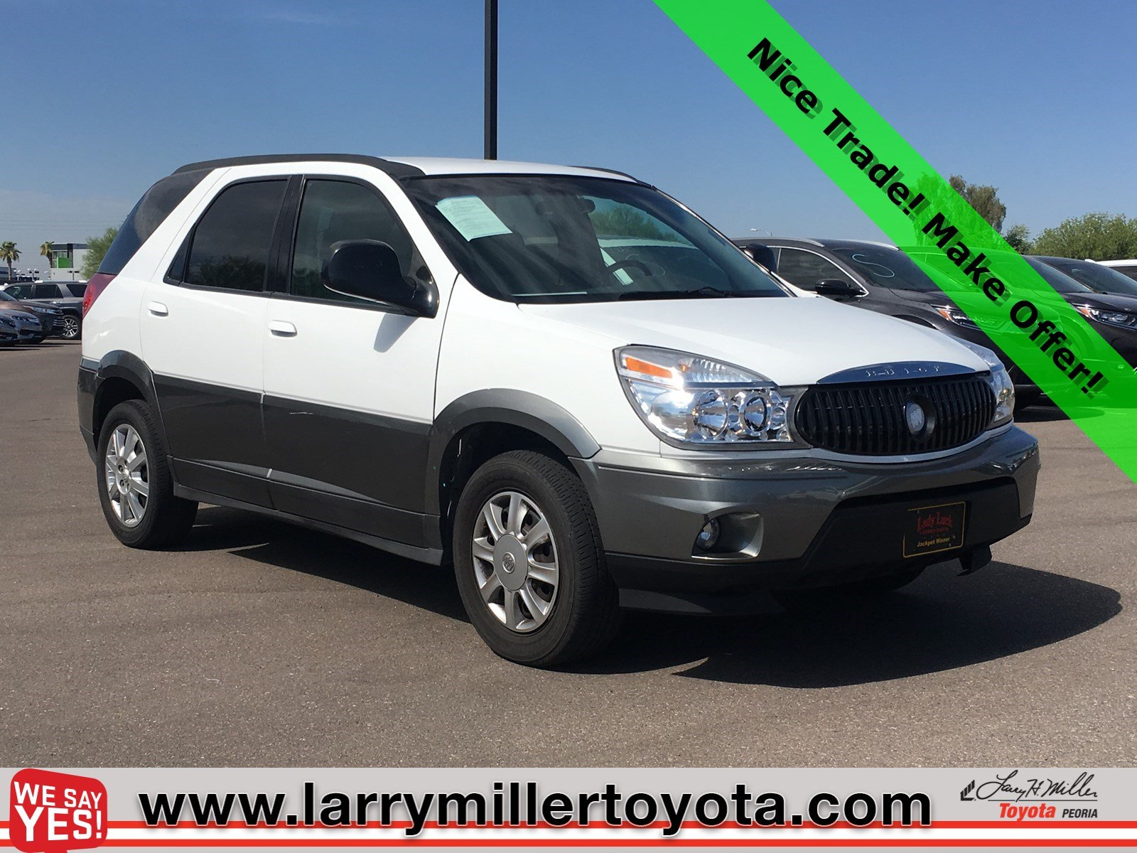 Photo Used 2005 Buick Rendezvous For Sale  Peoria AZ  Call 602-910-4763 on Stock 91512B