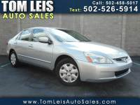 2004 Honda Accord LX sedan AT