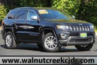 Certified Used 2016 Jeep Grand Cherokee Limited Sport Utility 4D SUV in Walnut Creek