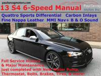 Used 2013 Audi S4 3.0T 6-Speed Manual For Sale at Paul Sevag Motors, Inc. | VIN: WAUDGAFL7DA170471