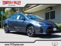 2017 Toyota Corolla SE Sedan Front-wheel Drive in Temecula