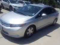 Used 2012 Honda Civic Hybrid Hybrid For Sale Grapevine, TX
