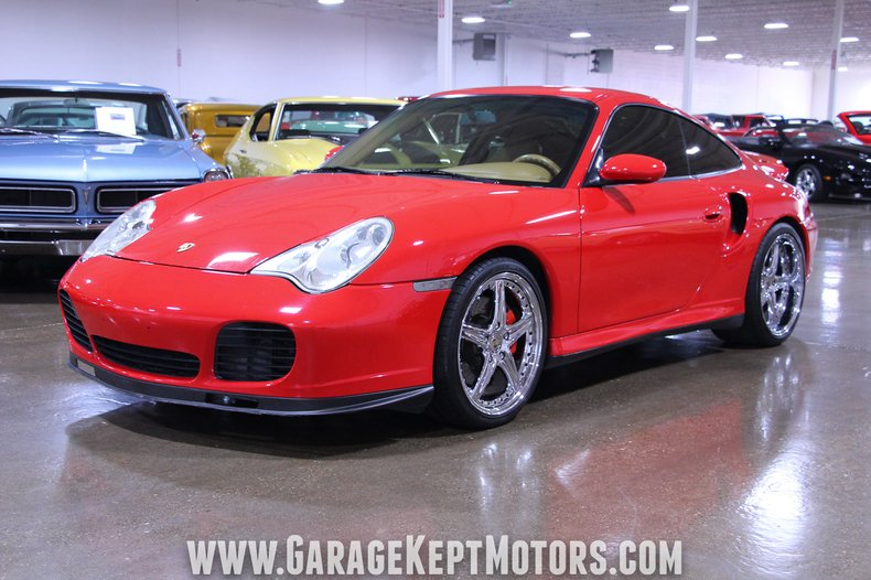 Photo 2001 Porsche 911  996 Turbo