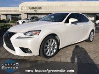 Certified 2016 LEXUS IS 300 Sedan in Greenville SC