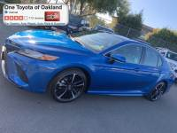 Certified Pre-Owned 2019 Toyota Camry XSE Sedan in Oakland, CA