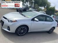 Certified Pre-Owned 2016 Toyota Corolla S Sedan in Oakland, CA