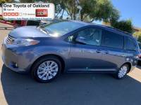 Certified Pre-Owned 2015 Toyota Sienna XLE 7 Passenger Van in Oakland, CA
