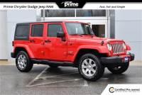 2017 Jeep Wrangler JK Unlimited Sahara 4x4