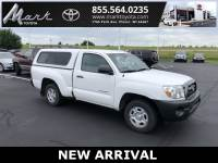 Used 2008 Toyota Tacoma Regular Cab 2.7L 4cyl Engine w/Fiberglass Topper & Truck in Plover, WI