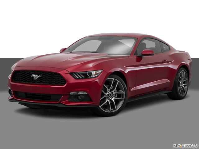 Photo Used 2015 Ford Mustang EcoBoost Premium Coupe in Merced, CA