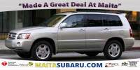 Used 2004 Toyota Highlander Limited Available in Sacramento CA