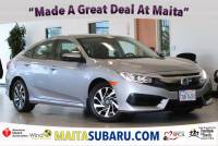 Used 2016 Honda Civic Sedan EX Available in Sacramento CA