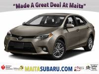 Used 2016 Toyota Corolla LE Available in Sacramento CA