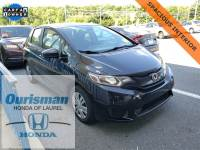 Used 2016 Honda Fit LX Hatchback in Bowie, MD