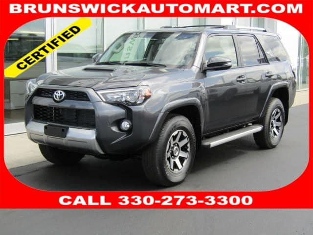 Photo Used 2018 Toyota 4Runner TRD Off Road Premium in Brunswick, OH, near Cleveland
