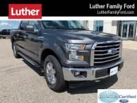 2017 Ford F-150 XLT 5.5 box Truck SuperCrew Cab V-6 cyl